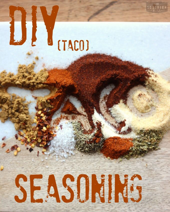 cheap recipes: DIY Gluten-Free Taco Seasoning Mix