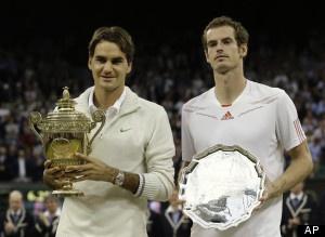 Tennis: Federer vs. Murray for Gold