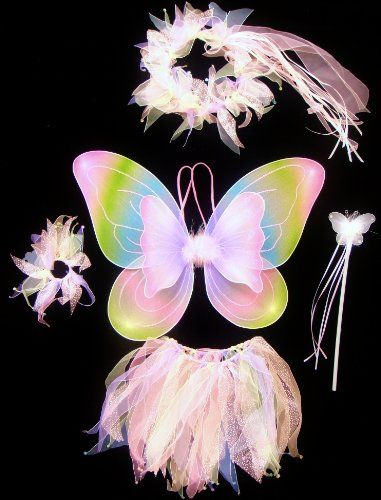 """More FAIRY COSTUME """"How To"""" info and vids...remember, if you want to make a fairy garden, why not dress the part, especially for the little ones or let them dress the part AFTER your fairy garden is complete to blend in while visiting with and looking for fairies that started living in your fairy garden."""