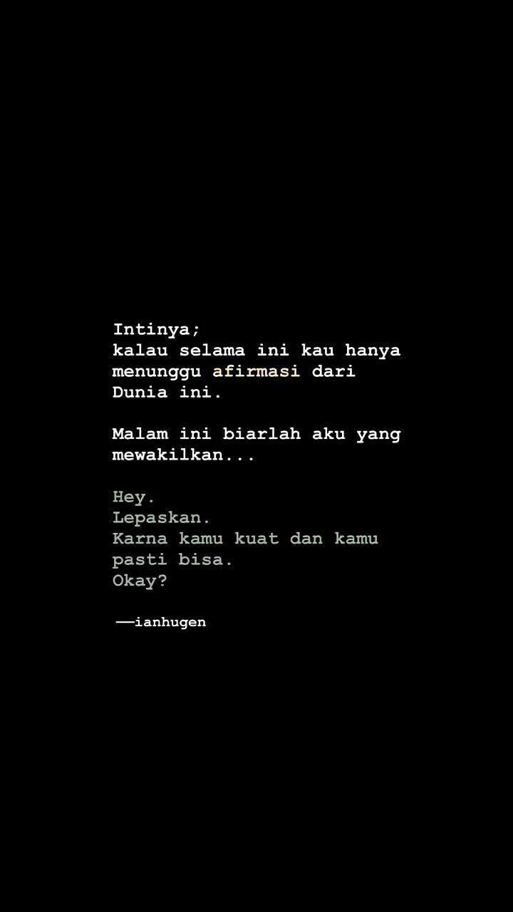 Pin Oleh Rizki Ageng Siti Nurfadillah Di ɪɴᴅᴏɴᴇsɪᴀ Kata Kata
