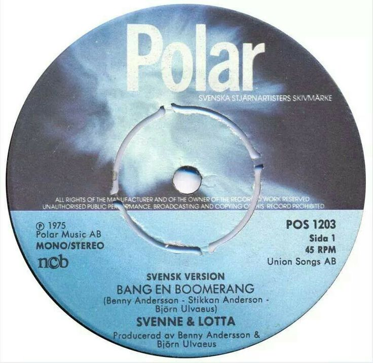 Svenne & Lotta,  single record. Before CD:s.