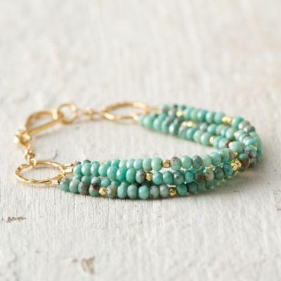 Turquoise Layers Bracelet