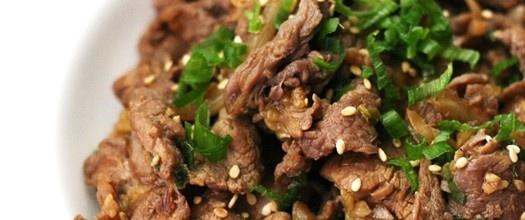 Koreaans Gemarineerd Rundvlees