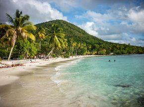 Après vous avoir parlé de La Guadeloupe, que diriez vous de partir découvrir sa voisine, La Martinique ? Cette île des Caraïbes est célèbre pour ses champs de canne à sucre,ses randonnées, son rhum mais aussi pour ses plages de rêve! Faut dire qu'elle regorge d'étendues de sable pour poser sa serviette et faire trempette …
