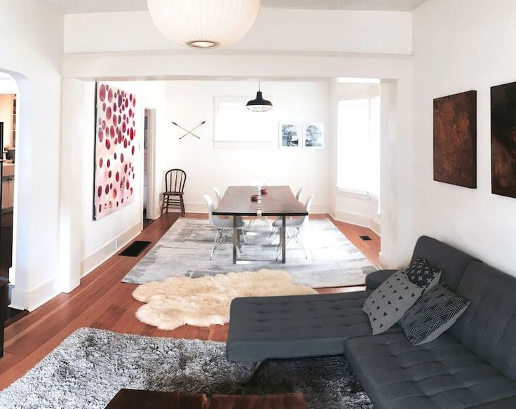 Entire home/apt in Portland, United States. Perfect PDX Location and Bright, Spacious, Clean designer 2 Bedroom filled with (real) art by artists local and abroad. 2 Floors. 1.5 Bathrooms. Minimal,comfortable,clean. Steps to Jam (best breakfast and brunch), Grand Central Bakery(yum!),Food C...