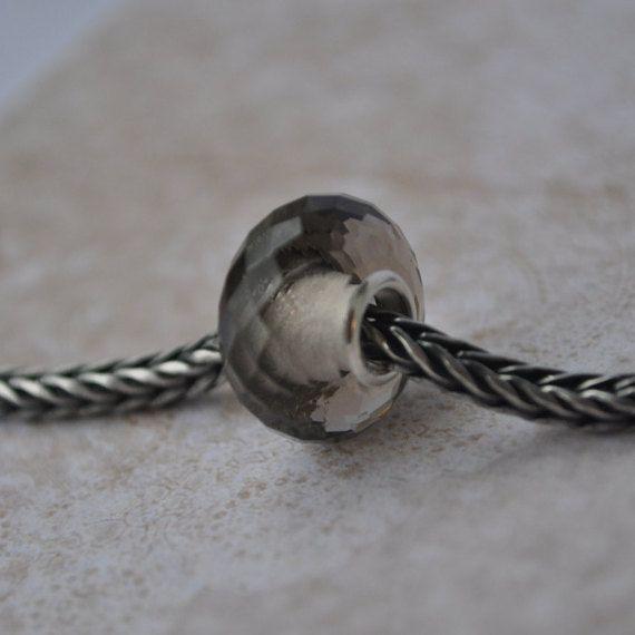 Smoky Quarzt gemstone bead for Pandora or от WiseOwlBead на Etsy