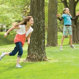 Grab Bag ~ an action-packed relay, full of surprises. (Summer Game Idea via FamilyFun)