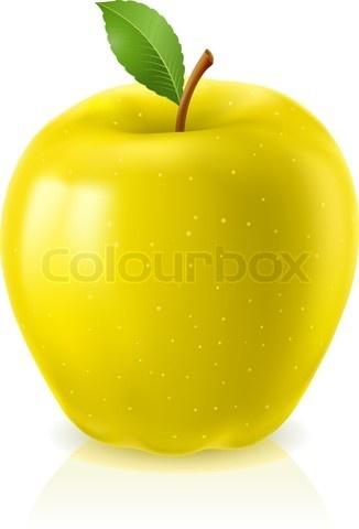 Big Yellow Apple Clip Art Pinterest