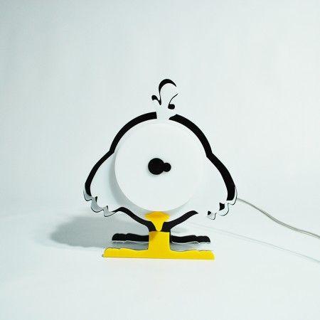 Lampada chick lampada da tavolo o da comodino per - Illuminazione per camerette bambini ...