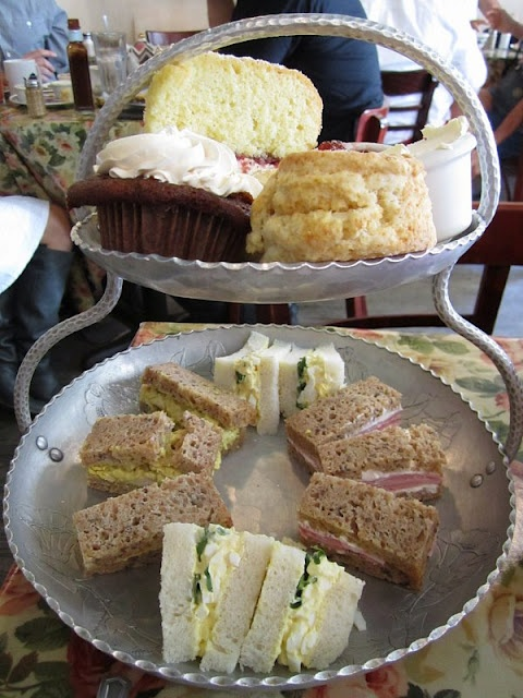 we love this step by step guide to our Afternoon tea from a lovely blogger Mission:Food