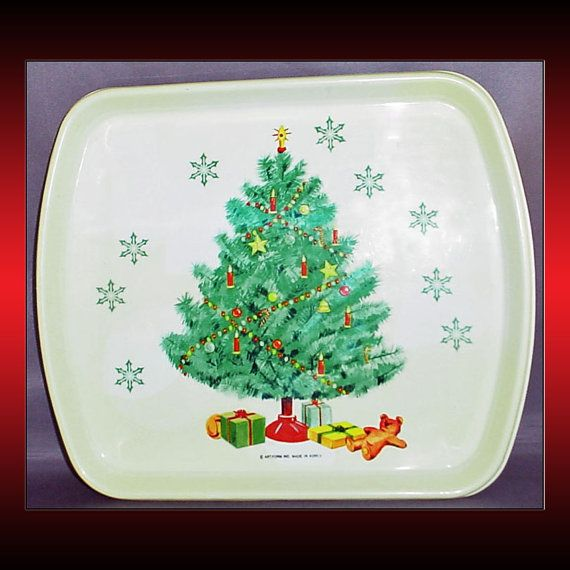 Decorative Plastic Serving Trays Captivating 42 Best Christmas Images On Pinterest  Tennessee Keepsakes And Inspiration Design