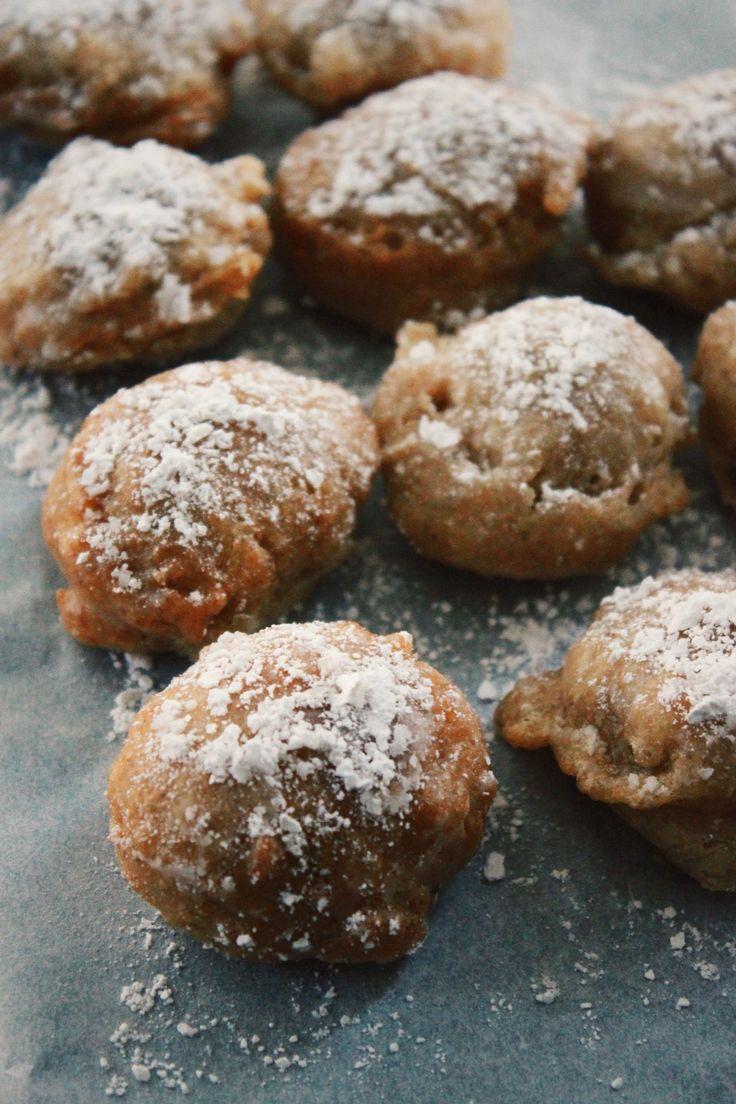 Powder Glazed Doughnut Holes