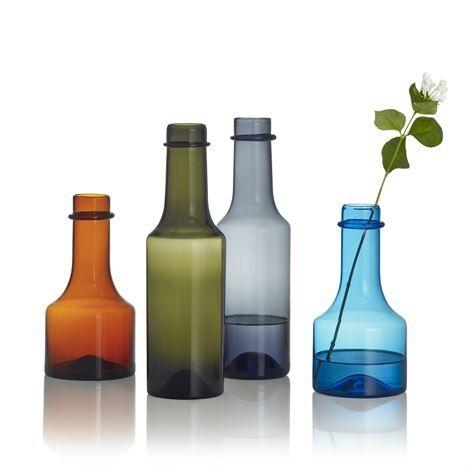 Wirkkala Anniversary fles 22,9 cm - turquoise - Iittala