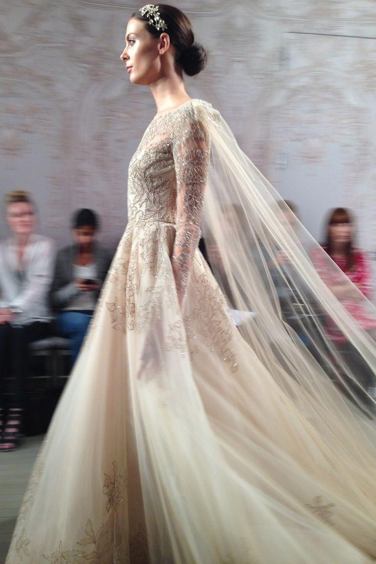 Monique Lhuillier - New York Bridal Market - Autumn 2015
