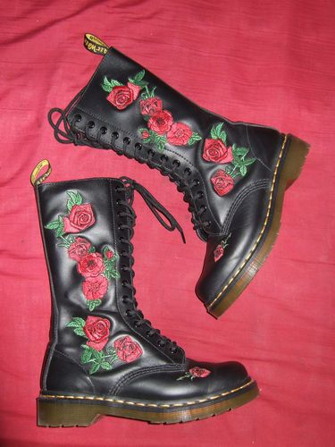 Proud owner of the Dr Martens Vonda Boots.