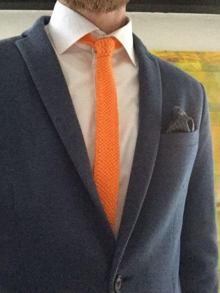 Strikket slips | vi holder af hverdagen