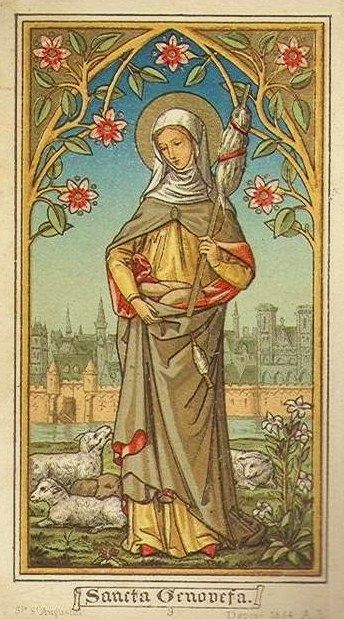 St Genevieve Card