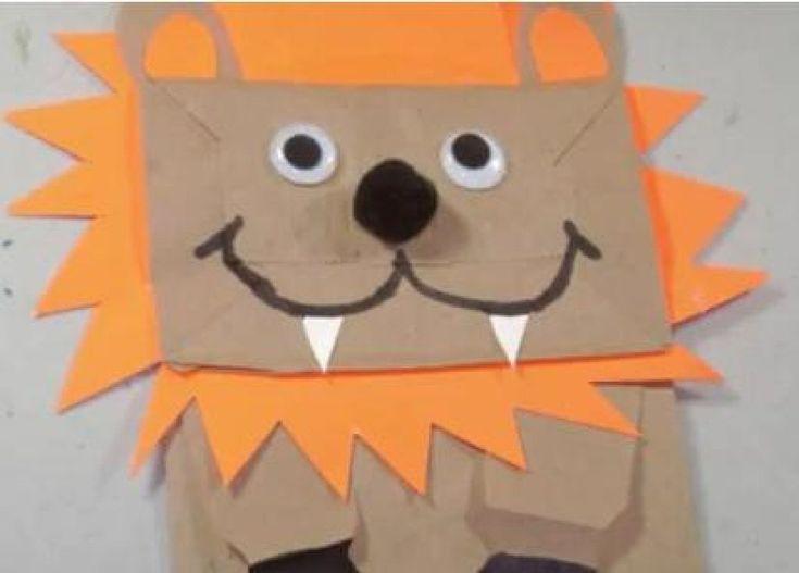 Marionetas con bolsas de papel                                                                                                                                                                                 Más