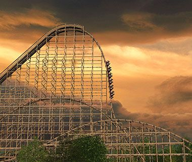 Goliath Roller Coaster, Six Flags Great America, Chicago