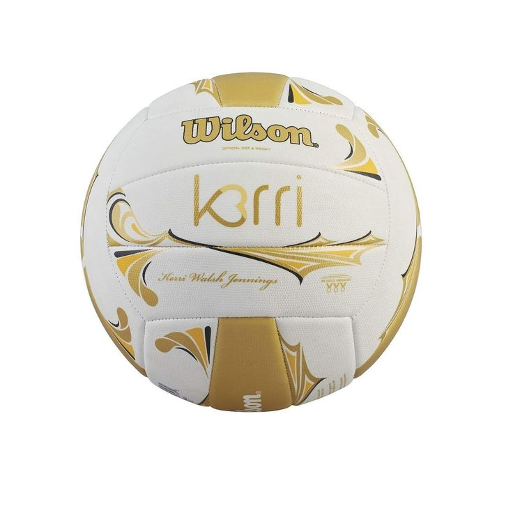 Get ready for your next outdoor adventure and have some fun with this volleyball. The Premium Series Volleyball is the exclusive outdoor volleyball of 3X Olympic Gold Medalist, Kerri Walsh Jennings. D