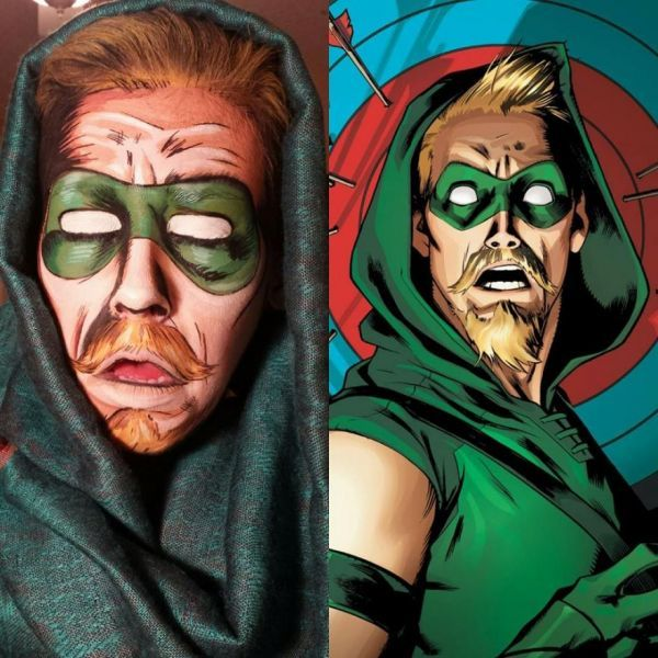 Makeup Artist Transforms People into Living Comic Book Characters - Neatorama
