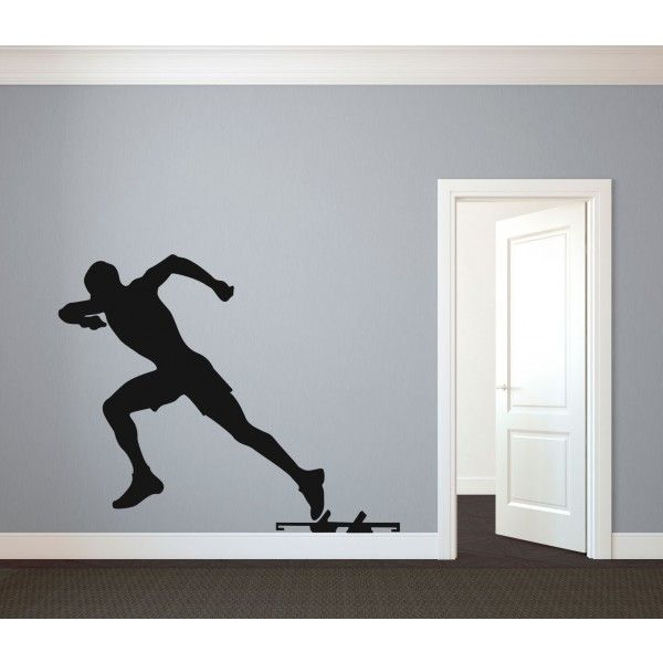Best Figure Wall Decals Images On Pinterest - Custom vinyl wall decal equipment