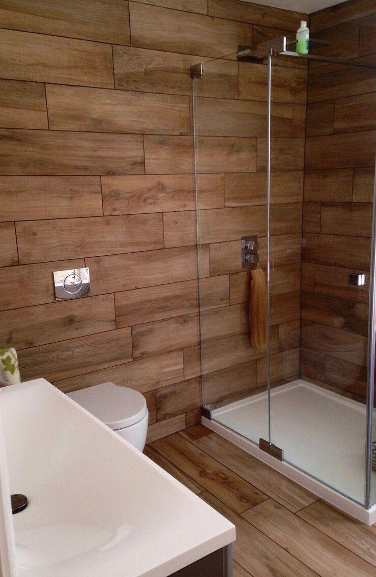 20 Fabulous Shower Bathroom Ideas That Steal Your Focus Bathroom Interior Design Wood Tile Shower Bathroom Interior