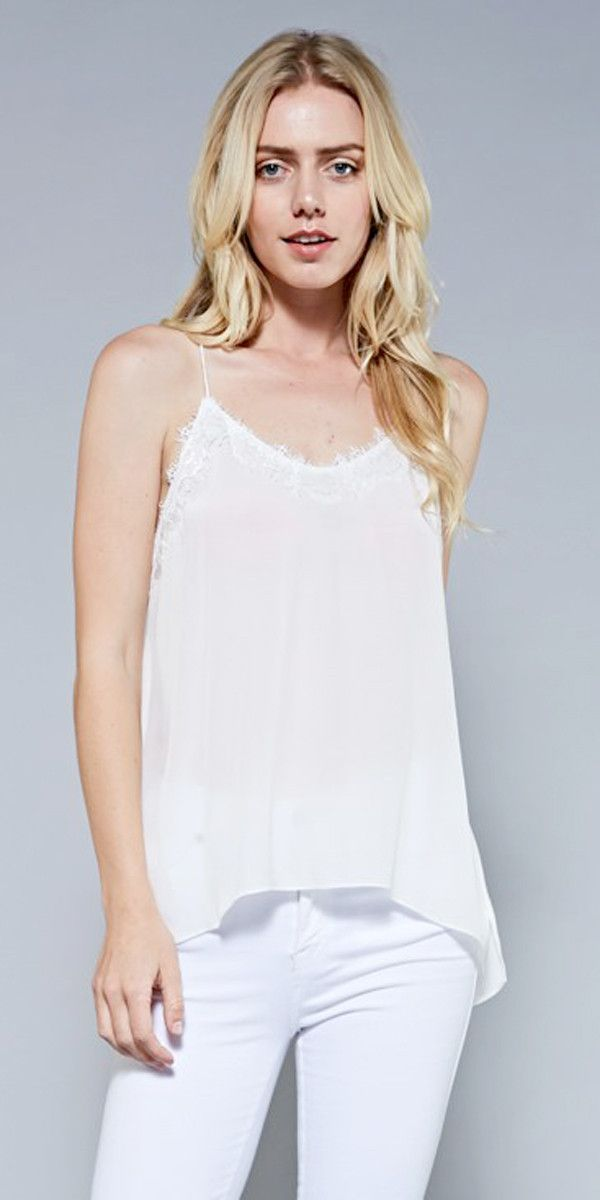 Lace Point Cami