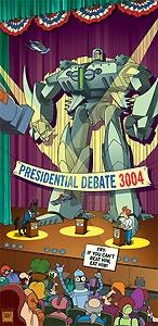 Futurama - Debate 3004 - 20th Century Fox - World-Wide-Art.com - $125.00 #Futurama