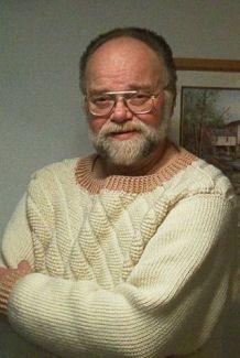 Free Crochet Pattern: Mens Diagonal Ribs Sweater