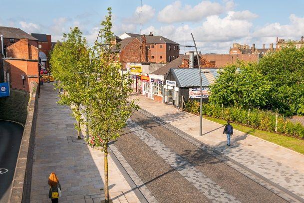 Corporation Street, Preston. Planit-IE + Hamilton-Baillie Associates