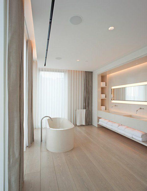 moderne vorh nge bringen das gewisse etwas in ihren wohnraum sichtschutz modern badezimmer. Black Bedroom Furniture Sets. Home Design Ideas