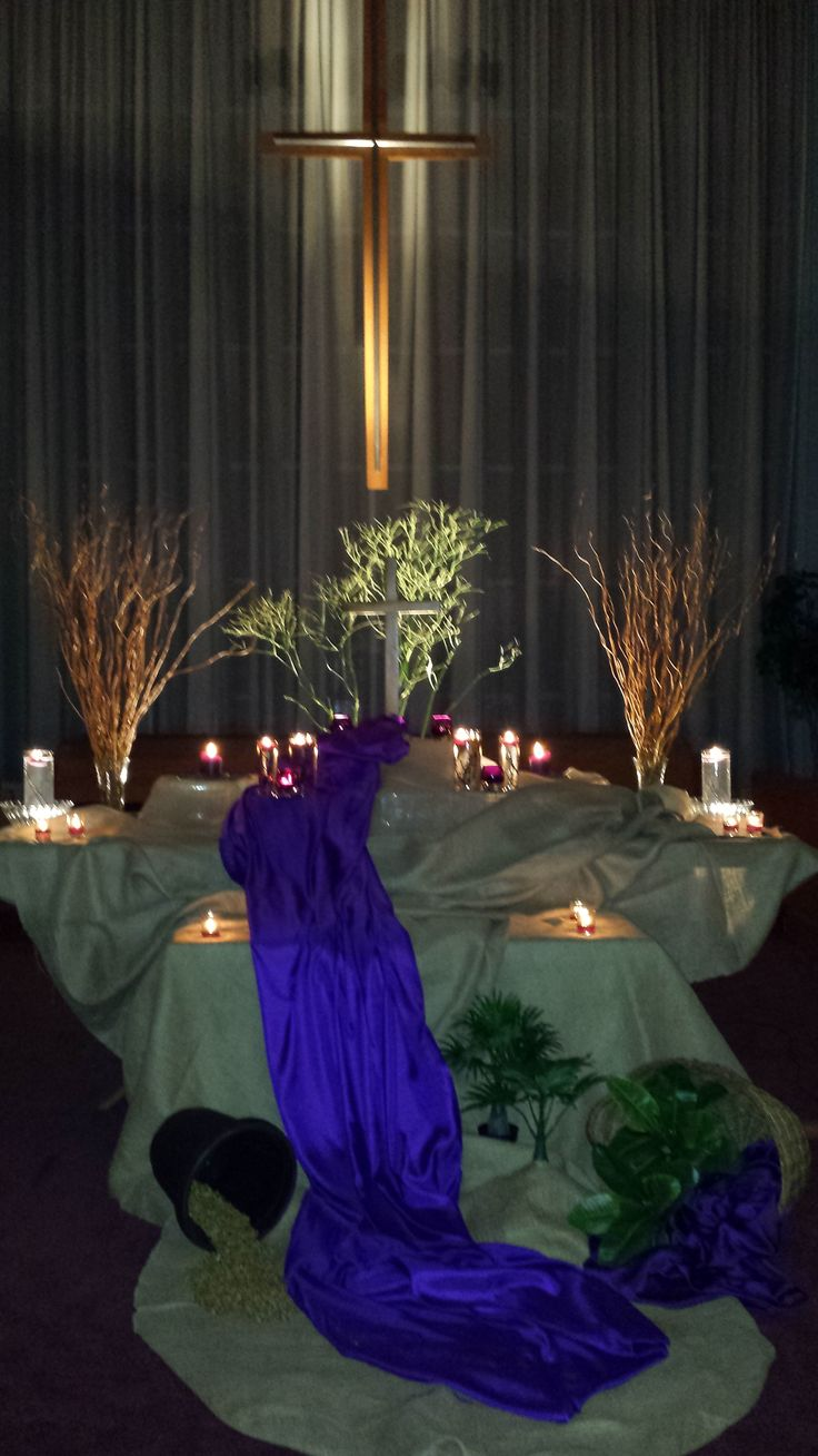 Holy Thursday -2016 -  Altar-Scape