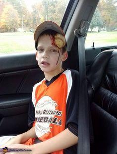 dead baseball player halloween costume contest via costume_works - Baseball Halloween Costume For Girls