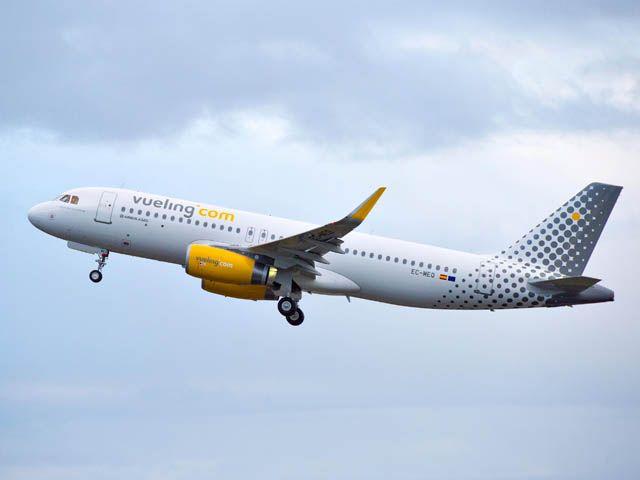 Aéroport de Rennes : Vueling franchit les 300 000 passagers transportés