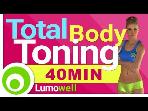 40 Minute Full Body Workout - Toning Exercises - YouTube