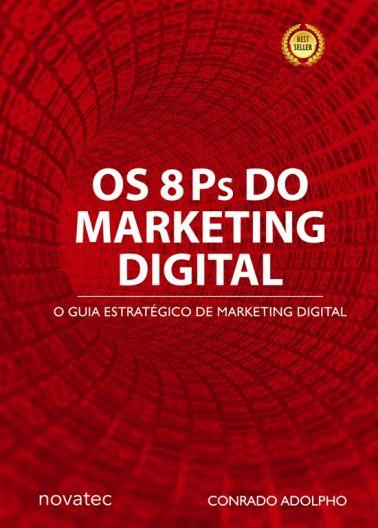 O livro Os 8 Ps do Marketing Digital traz para profissionais de marketing, administradores, empresários, profissionais liberais e estudantes o passo a passo para se ter êxito nas estratégias de negócios de todos os tipos, utilizando para isso o ambiente online. Mostra como transformar a internet em uma ferramenta de negócios eficiente e lucrativa.