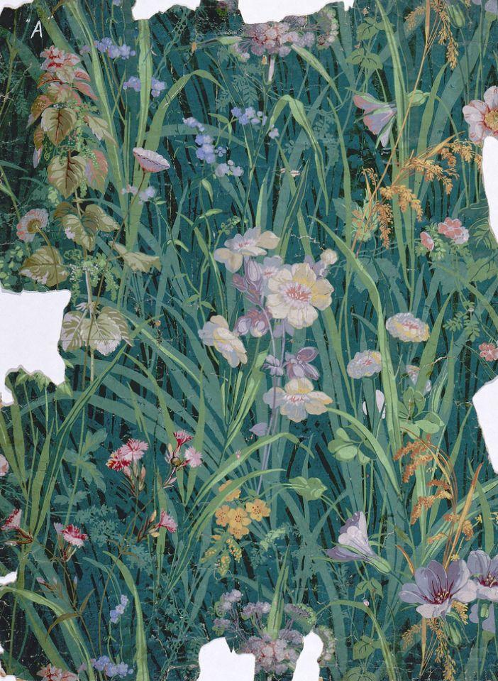 robert-hadley:  Vintage wallpaper - cooperhewitt.org
