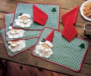 10 Most Cute and Adorable Holiday Table Placemats