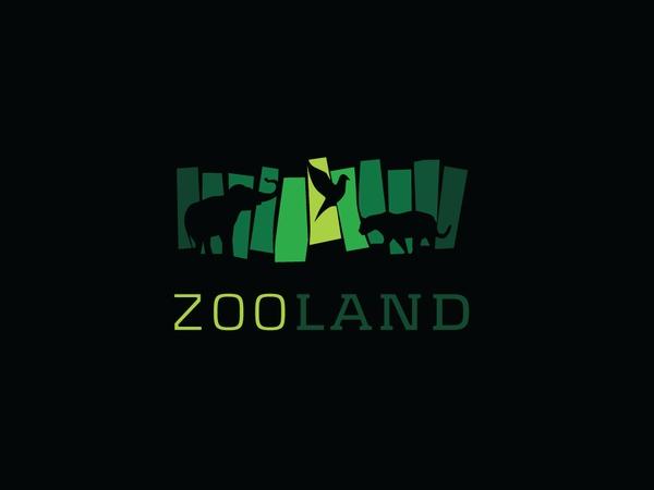 zoo logo by stuparu dragos, via Behance