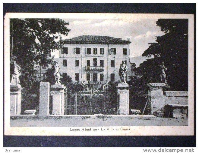Padova (Padua) - VENETO -PADOVA -LOZZO ATESTINO -F.P.