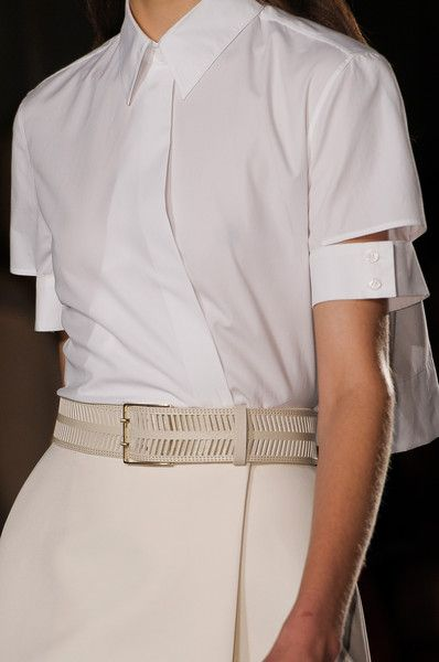 Loving the sleeve detail on this - Victoria Beckham
