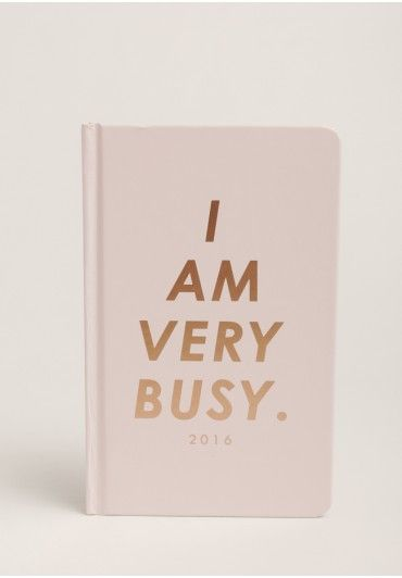 """Stay organized with this incredibly cute pink agenda featuring colorful illustrations and stickers, inspiring quotes, and weekly """"fun"""" to-dos."""