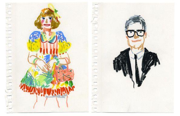 Damien Florebert Cuypers: Frieze Two Minute Portraits