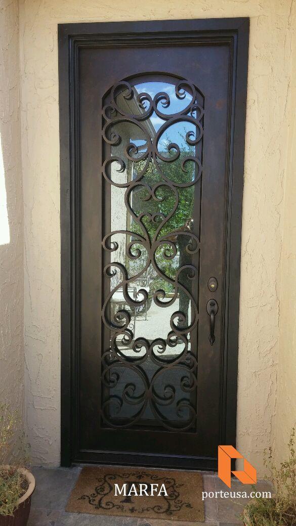 Beautiful Wrought Iron Entry Door Hardware