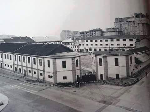 Cuartel de Artillería en Zalaeta.