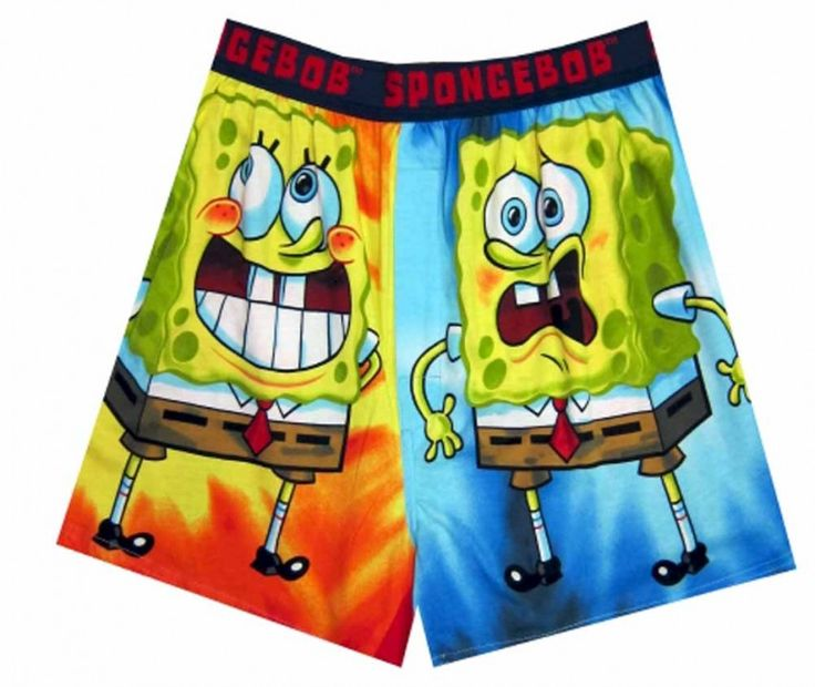 #SpongebobBoxers The character is fun loving, happy-go-lucky, abnormal and immature!