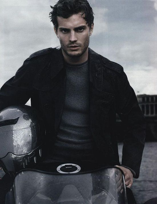Soooo he's not Matty Bomer, BUT I won't complain...  I love #OnceUponATime and this man = delish!  :D  Jamie Dornan — Christian Grey in Fifty Shades of Grey.