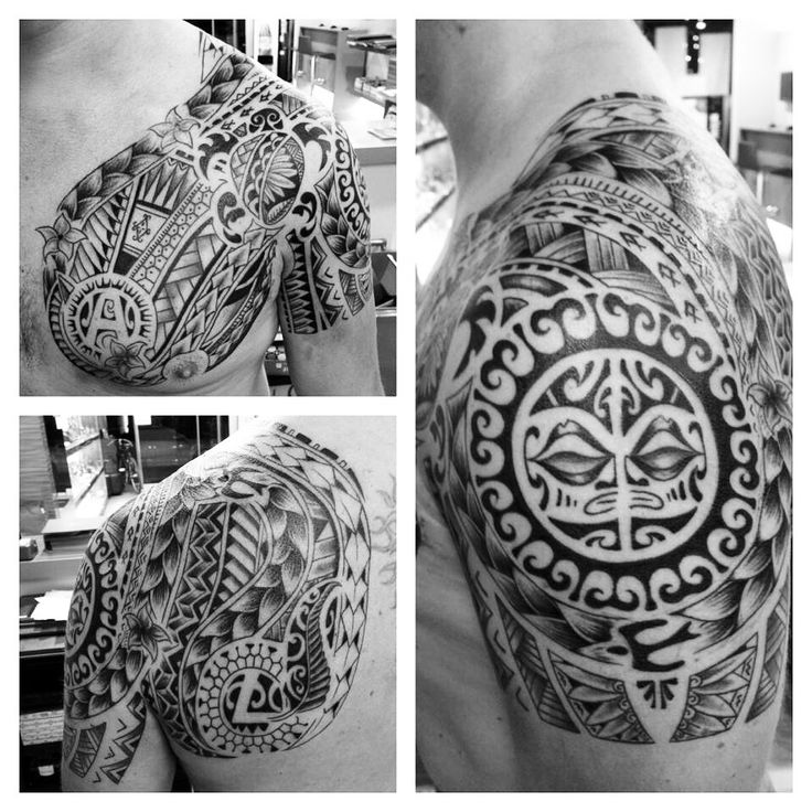My tattoo chest+shoulder+back