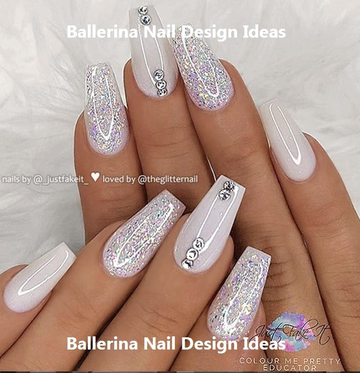 Trendy Ballerina Nail art 2019 naildesigns